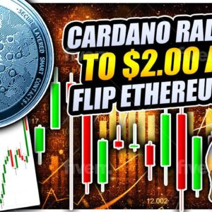 CARDANO TO PUMP STRAIGHT TO $2.00 AFTER BREAKING THIS KEY LEVEL!!!! CARDANO VS ETHEREUM & BITCOIN