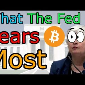 HILARIOUS! 'Buy Bitcoin' Sign Seen On Live TV During Federal Reserve Hearing (The Cryptoverse #302)