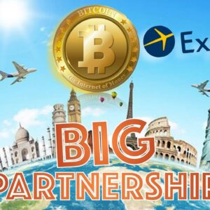 230 COUNTRIES + 2 MILLION Options for BITCOIN & Cryptocurrencies as MAJOR PARTNERSHIP FORMS.