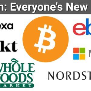 Whole Foods Bitcoin via Flexa SPEDN / Bakkt News / eBay Crypto Update / Microsoft DID Bitcoin