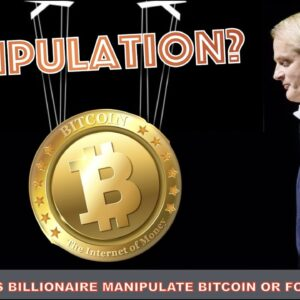 IS BITCOIN BEING MANIPULATED BY POWER PLAYERS OR JUST FOMO?