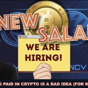 IS GETTING PAID IN BITCOIN & CRYPTO A GOOD IDEA?