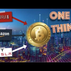 Netflix, Amazon, Tesla & Bitcoin ALL SHARE THIS ONE THING And It's Why Crypto Is a SLEEPING GIANT.
