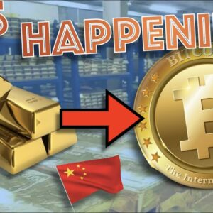 GOLD is Being SOLD For BITCOIN In MASSIVE Numbers. FOMO? China SHUTS DOWN BTC MINERS. CENTRALIZED?