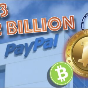 PAYPAL REVENUE MASSIVE INCREASE DUE TO TO BITCOIN AND CRYPTOCURRENCIES. BAD FOR OUR MARKET?
