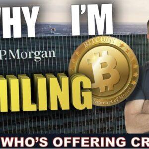 JP MORGAN'S GENIUS MOVE WITH CRYPTO. BLOCKBUSTERED?