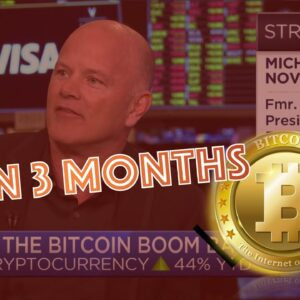 Galaxy Digital CEO, Mike Novogratz: Bitcoin to 14k in 3 MONTHS! CARDANO NEWS - STAKING EXPLOSION!