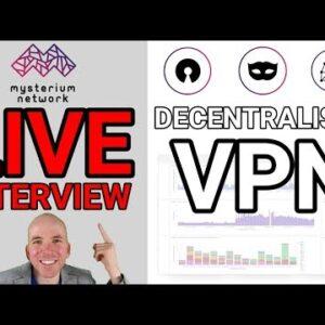 Live Interview Robertas Višinskis Founder of Mysterium Network
