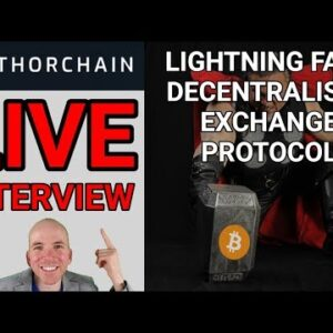 Live Interview with JP From Thorchain, Decentralised Exchange Protocol