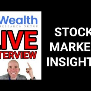 Live Interview with Lior Gantz, Wealth Research Group
