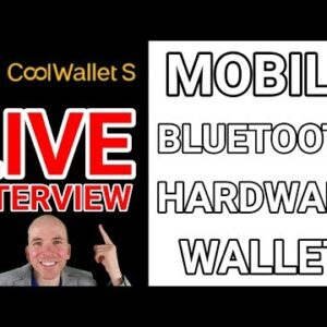 Live Interview with Michael Ou, CEO of CoolBitX / CoolWallet S