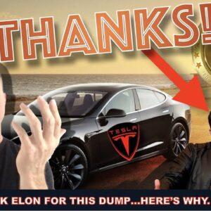 LIVE: THANK ELON MUSK FOR THIS BITCOIN CRYPTO DUMP (IT'S GOOD!)