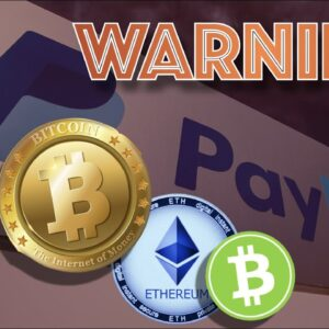 BAD NEWS: Potential PITFALLS of Paypal Offering Bitcoin & Cryptocurrency + Biden WANTS YOUR BITCOIN?