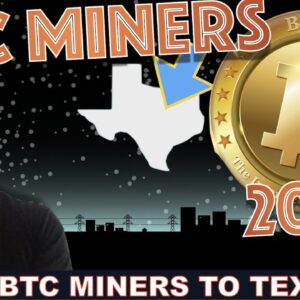 MASSIVE INFLUX OF BITCOIN MINERS TO TEXAS (2023). TESLA?