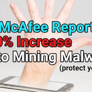 McAfee: 4,000% Increase In Crypto Mining Malware In 2018