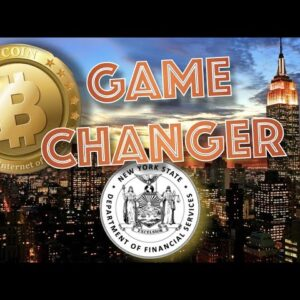 """NY Department of Financial Services Calls Bitcoin & Cryptocurrency a """"GAME CHANGER""""."""