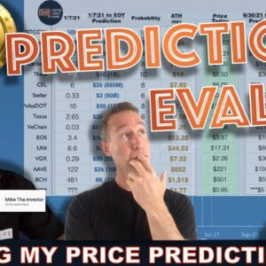 MY 2021 EOY BITCOIN & CRYPTO PRICE PREDICTIONS EVALUATED.