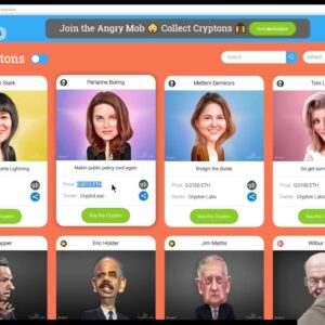 MyCryptons - A New Ethereum Collectable Game With Celebrities