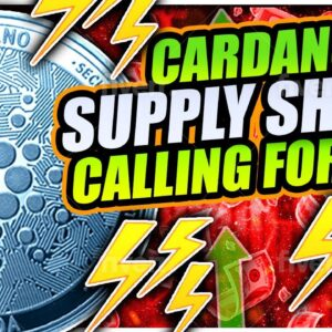 CARDANO CONSOLIDATION BEFORE $2 00 BREAKOUT!! PROOF BITCOIN IS GOING TO $100,000!!!!