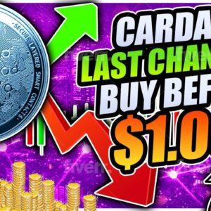 CARDANO BROKE RESISTANCE!! NEXT TARGET $1.00!!! ETHEREUM RALLYING TO $2,000 TOMORROW!!!?