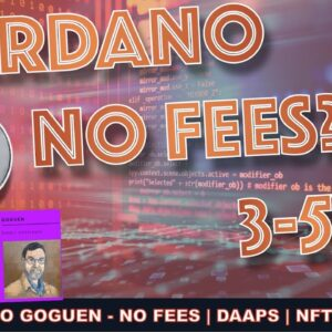 WHY CARDANO CAN GO 3X TO 5X FROM HERE. DAAPS, SIMPLE DE-FI & MINIMAL FEES (w/HASHOSHI)