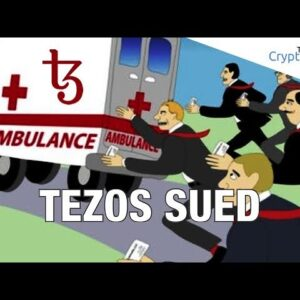 ICOs In BIG Trouble? 😱 Tezos Cryptocurrency Sued In Class Action ⚖ Lawsuit - More Of These To Come?