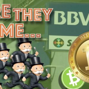 BANKS Entering Into BITCOIN & CRYPTO Space FAST Because NOBODY Wants To Be LAST! 2021 is THE YEAR...