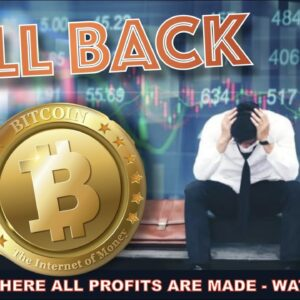 RELAX. THIS PULL BACK IS NORMAL FOR BITCOIN AND THE CRYPTO MARKET. HERE'S WHY WE'RE RIGHT ON TARGET…