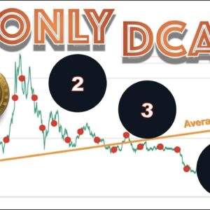 WHY I ONLY Dollar Cost Average (DCA) These 4 Cryptos EVERY SINGLE DAY Starting With BITCOIN.