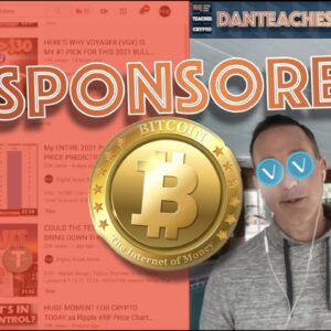 THE TRUTH ABOUT PROMOTED VIDEOS AS A CRYPTOCURRENCY YOUTUBER. BITCOIN AND VOYAGER VGX TOKEN.