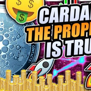 CARDANO FUD TO $0.70 OR PUMP TO $2.00 INCOMING!!?? BITCOIN CRASHING THE MARKET!!!?