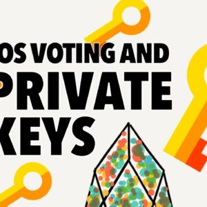Response To Questions About EOS Voting And Private Keys