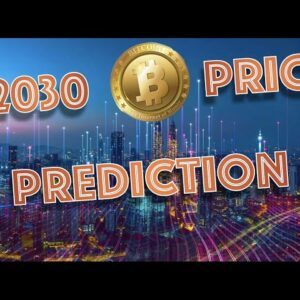 2030 Bitcoin Price Prediction of…50k? What a NEW SURVEY Tells Us About Investors Fears.