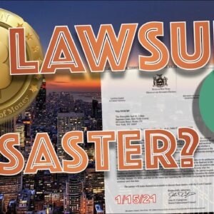 COULD THE TETHER LAWSUIT BRING DOWN THE ENTIRE BITCOIN & CRYPTOCURRENCY MARKET? 1/15/21 IS THE DATE.