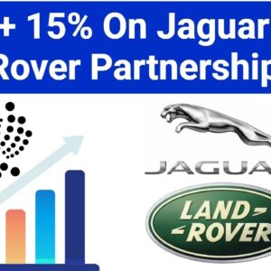 IOTA Moons On Jaguar Land Rover Partnership / Warning About Ledger Wallet Malware