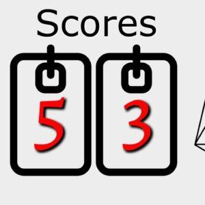 Score Check - Ethereum 5 : EOS 3