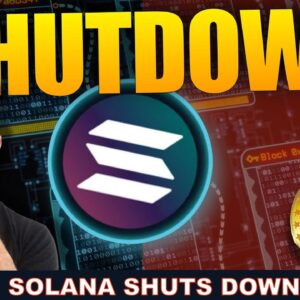 SOLANA DOWN AFTER MASSIVE NETWORK LOAD. BULLISH FOR CRYPTO?
