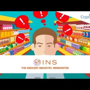 Grocery Blockchain Could MASSIVELY Boost Cryptocurrency Adoption (And Prevent Riots) INS ICO Review
