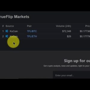 Switching Cryptocurrency Markets On Binance