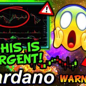CRYPTO EXPERT CALLING FOR $10 CARDANO!!!!!! Price Prediction 2021, Technical Analysis, News