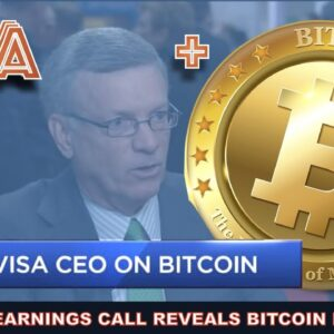VISA CEO WANTS BITCOIN AND STABLECOINS ON THEIR NETWORK. XRP ARTIFICIAL PUMP? VOYAGER INTERVIEW TUES