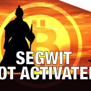 Segwit has NOT activated! Only BIP91 has locked in. BIP141 is required for Segregated Witness