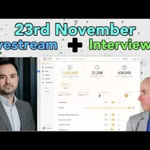 The Cryptoverse Weekly Livestream feat. Matt Hawkins CEO of Cudo Miner