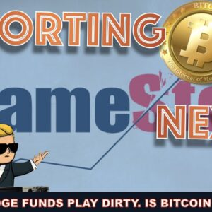 HEDGE FUNDS & INSTITUTIONS TO SHORT BITCOIN NEXT? HOW GAMESTOP SHOWED US THERE ARE 2 SETS OF RULES
