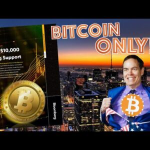 Are Bitcoin Maximalists DELUSIONAL or 100% CORRECT? Bloomberg Report Goes ALL IN on the KING CRYPTO!