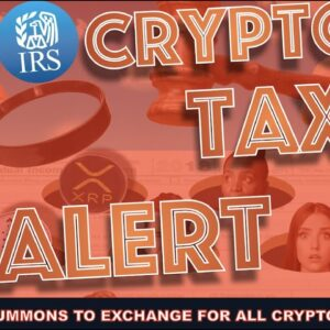 WARNING: IRS REQUESTS KRAKEN TO GIVE ALL CRYPTO INVESTORS INFO.