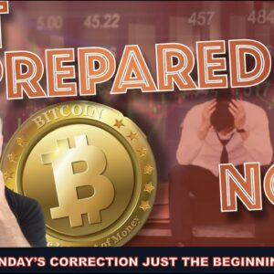 WHY THIS SUNDAYS BITCOIN CORRECTION WAS JUST THE BEGINNING. GET READY.