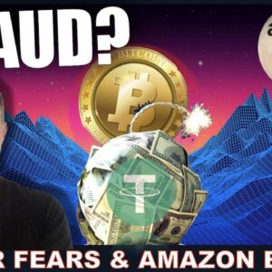 WILL TETHER DESTROY CRYPTO? WILL AMAZON MOON IT?