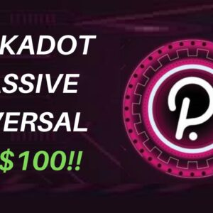 POLKADOT TO $100 WITHOUT STOPPING!!! BOTTOM IS IN!!!! Technical Analysis, Price Prediction 2021