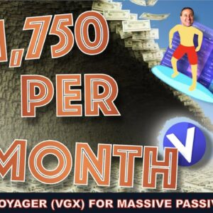 WHY HOLDING VOYAGER (VGX) CRYPTO WILL LEAD TO A TSUNAMI OF PASSIVE GAINS. THE NEW VENMO.